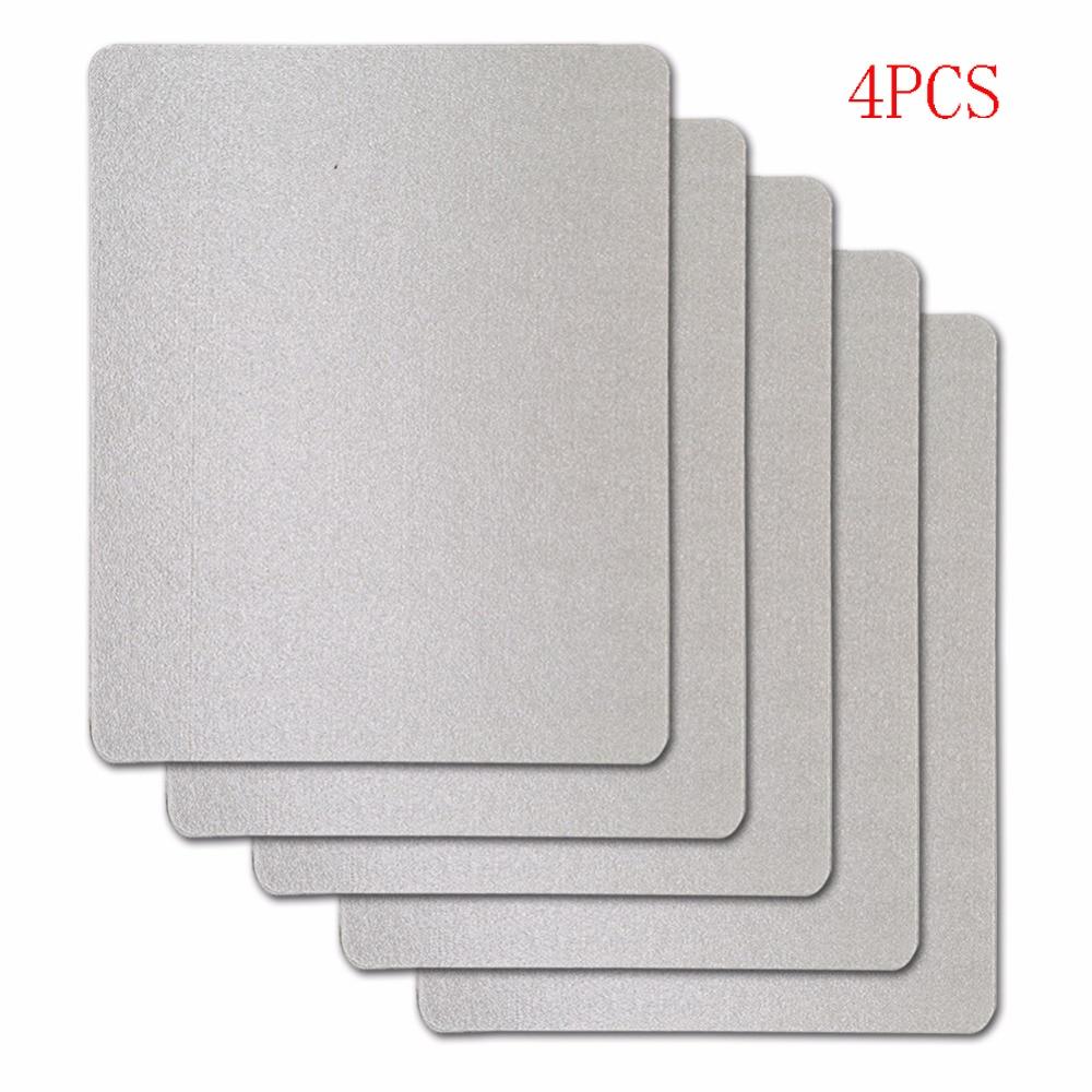 4pcs/lot 15x12cm Mica Plates Sheets For Panasonic LG Galanz Midea Etc.. Microwave Microwave Oven Repairing Part