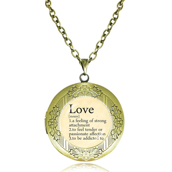 Love necklace romantic word pendant collares vintage dictionary love necklace romantic word pendant collares vintage dictionary definition of love jewelry letter locket necklace jewelry mozeypictures Gallery