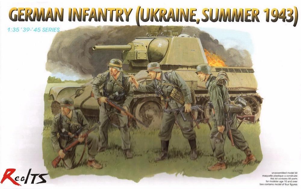 RealTS Dragon 6153 1/35 German Infantry, Ukraine, Summer 1943