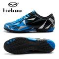 TIEBAO Botas De Futbol Kids Football Shoes TF Turf Soles Boys Girls Training Soccer Shoes Ourdoor Sports Sneakers Size 30-38