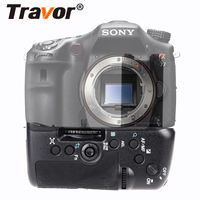 Travor Multi Power Battery Grip Pack Holder For Sony STL A77 A77V A77ii A99ii replacement VG C77AM work with NP FM500H battery