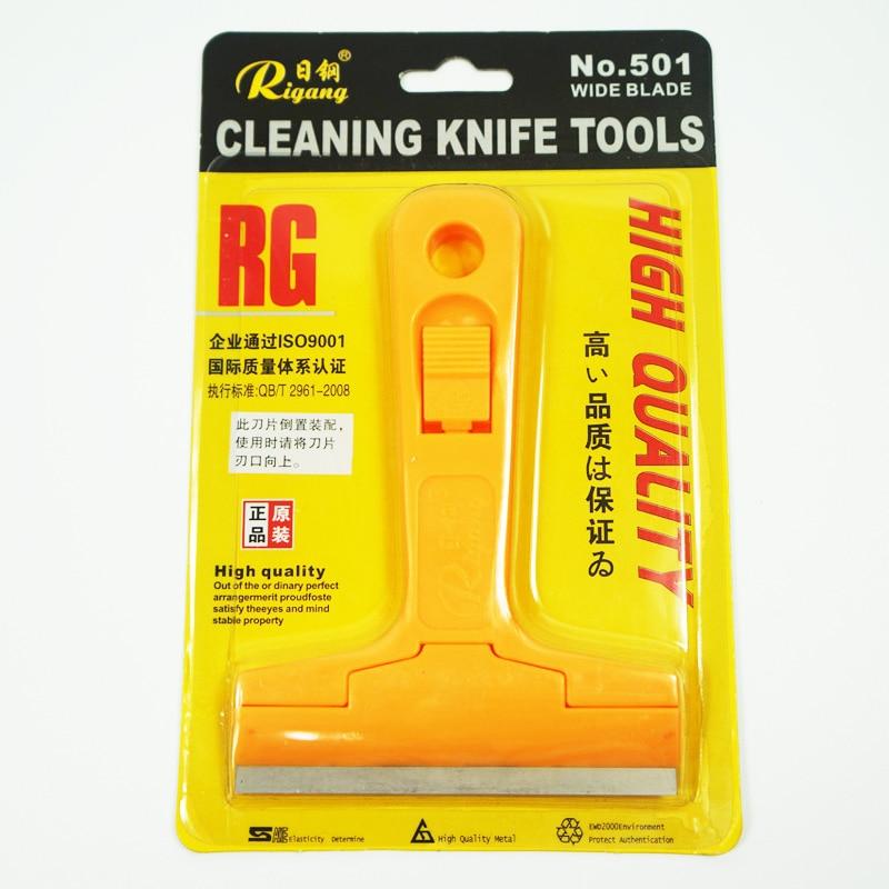 2 pcs Chaude de nettoyage universel couteau outils Grand grattoir NO 501 pour propre Plancher De verre, carreaux de sol et débris
