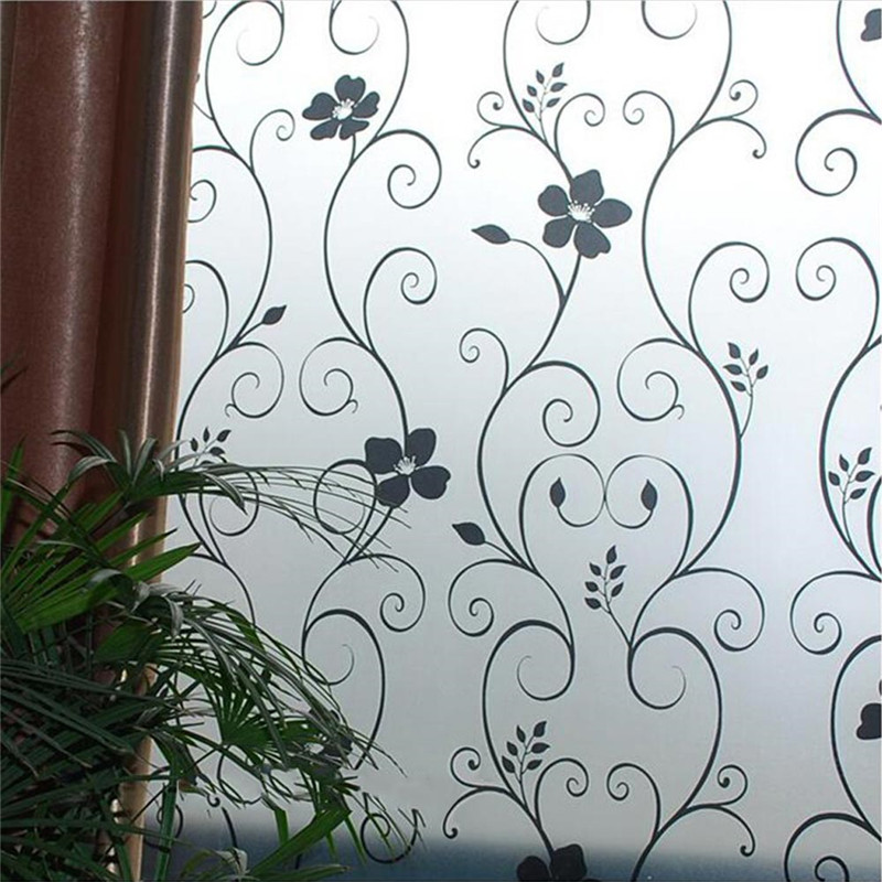 privacy cover frosted glass window film privacy glass stickers