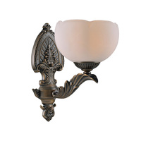 American Bedroom Bedside Lamp Wall Lamp Jane Retro Antique Copper Glass Lamp Personality