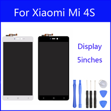 Original LCD For Xiaomi Mi 4S M4S Mi4S Display Screen Digitizer Touch Screen Glass Panel 5 Inch Replacement FreeTools