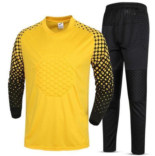 Kids Boys Soccer Goalkeeper Jerseys Survetement Football Shirts Goalkeeper Child yonth Training Jersey Clothing Pants Suit