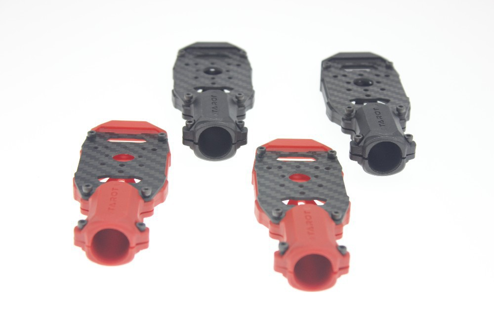 F06834-A Tarot Dia 16mm Multi-Axis Clam Motor Mount Plate TL68B25 Black TL68B26 Red for Hexacopter Quadcopter Multicopter