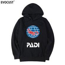 scuba driver padi men Hoodies Sweatshirts women unisex Combed Cotton