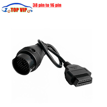 New Arrival lowest price OBD2 OBDII 38 Pin to 16 Pin Diagnostic Adapter Connector Cable