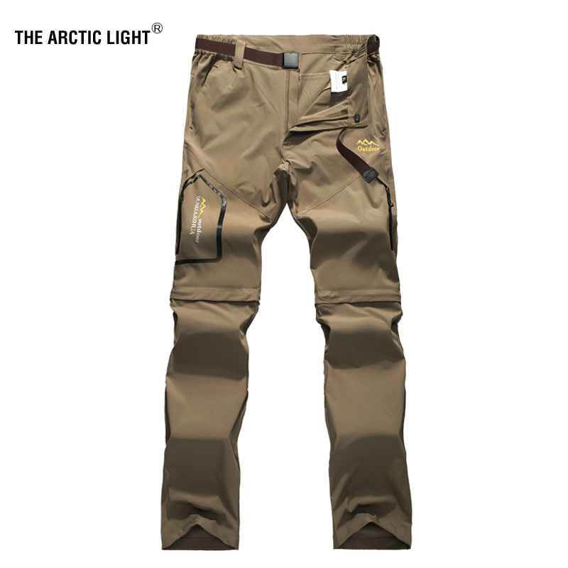 THE ARCTIC LIGHT Hiking Camping Trekking Fishing Trousers <font><b>Men's</b></font> Summer Quick Dry Pants Outdoor Sports Elasticity <font><b>6XL</b></font> 2018 image
