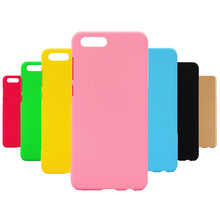 Phone Case sFor Fundas Huawei Honor 10 case For Coque 7C Candy Color Hard plastic PC cover phone cases