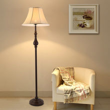 American Style Exotic Floor Lamps Led E27 110V-220V Living Room Bedroom Continental Retro Creative Iron Fashion Floor Lamp(China)