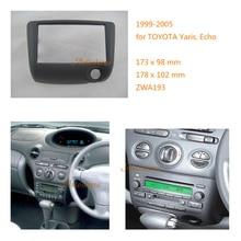 Автомобиль Радио место установки фасции для Toyota Yaris эхо 1999-2005