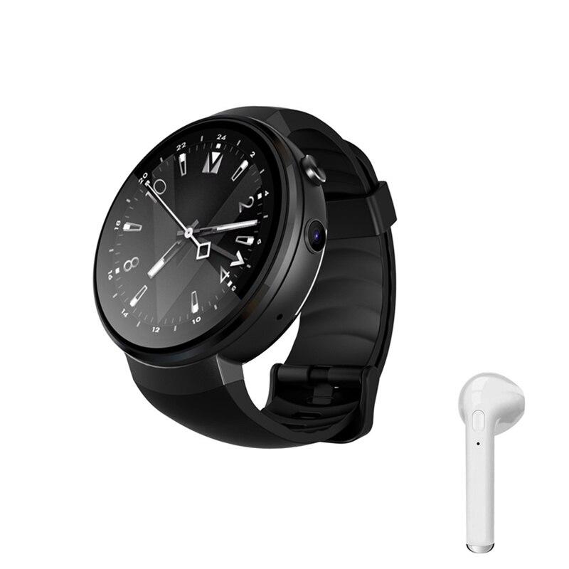 Smart watch hommes 4g montre téléphone MTK6737 smartphone 16 gb/ROM avec moniteur de fréquence cardiaque cadeau surprise pour noël smart watch femmes