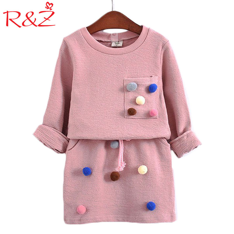 AiLe Rabbit Girls Winter Clothing Set Shirt Clothes Kids