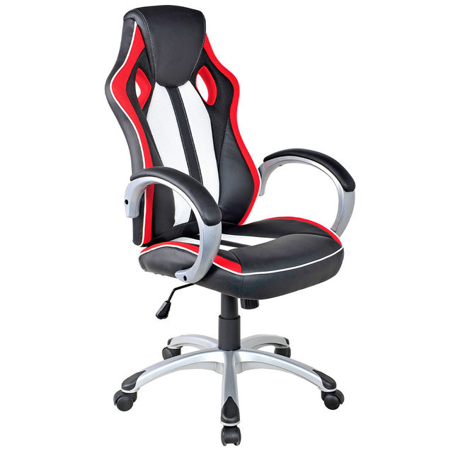 Giantex Executive Racing Style Gaming Chair Modern High Back Bucket Seat  Computer Office Desk Task Chair