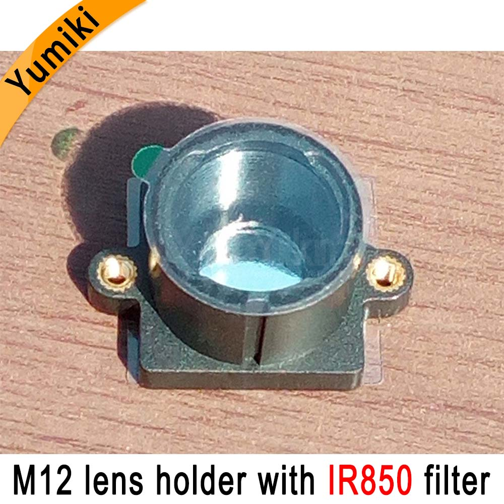 Yumiki M12 Lens Mount MTV Security CCTV Camera M12 Lens Holder Bracket With IR850nm Filter