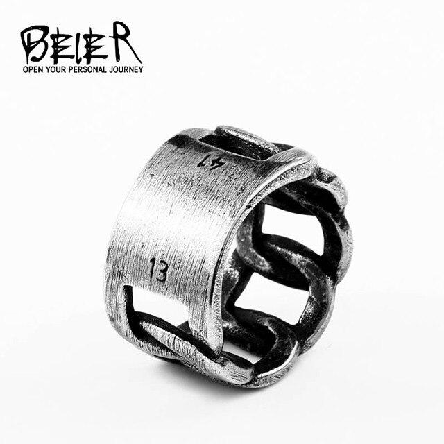 Beier thép không gỉ Thời Trang 2018new 1314 chuông Xoắn counple Retro Cưới trang sức cho người phụ nữ Người Yêu Tặng dropshippingBR8-594