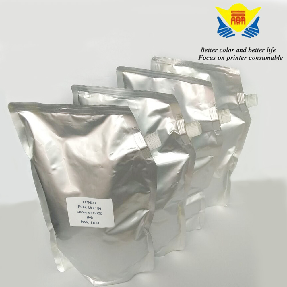 JIANYINGCHEN Совместимость Цвет Тонер для hp Laserjet 5500(4 упак./лот) 1 кг в мешок 9730A 9731A 9732A 9733A