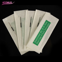2RL 100pcs/lot Beauty Tattoo Needles Disposable Sterilized Professional For Tattoo Eyebrow Pen Machine Permanent Makeup Kit