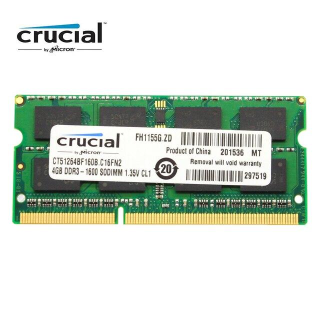 Основная оперативная Память SO DIMM DDR3 DDR3L 8 ГБ 4 ГБ 1333 МГц 1066 МГц 1600 SODIMM 8 Гб 12800S 1,35 в для памяти ноутбука 2