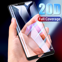 20D Full Cover Tempered Glass on For Huawei P20 P30 Lite Pro Screen Protector Protective Film For Mate 10 9 20 Lite Pro Glass цены