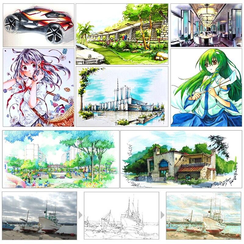 Marcadores da Arte sta 80 cores arte marcador Art Marker Free Shipping by Dhl : if You Buy More Than $160