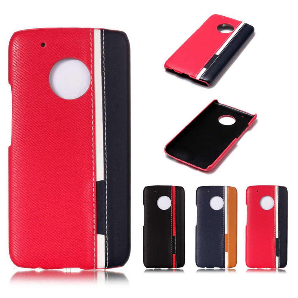 Mix Цвета жесткий Пластик задняя крышка для Motorola G5 плюс телефон чехол с Роскошные