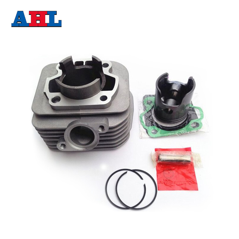 Motorcycle Engine Parts For SUZUKI AG100 AG 100 Air Cylinder Block & Piston Kit & Cylinder Head Gasket Kit motorcycle scooter atv parts cylinder piston rings gasket engine kit for suzuki lt 80 lt80 1987 2006
