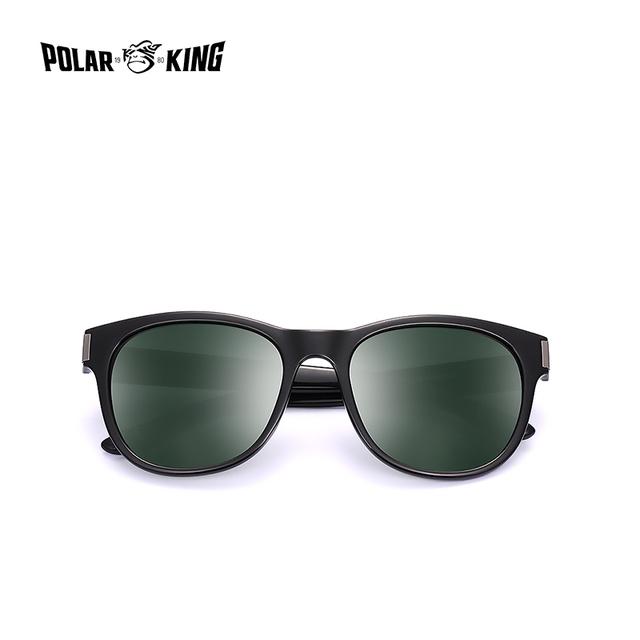 POLARKING 311 Oval Polarized Sunglasses