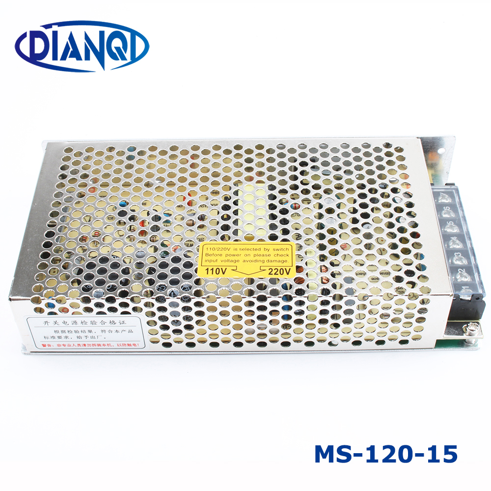 Power Supply MS-120W-12V 10A Power suply MS 120W 12V Mini Size Power Supply Unit led ac dc Converter MS-120-12