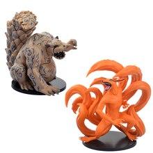 2pcs/set 11cm NARUTO Kyuubi  PVC Figures Collectible Model Toys -16