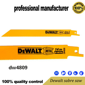 dewal reciprocating blade for jig saw tool and recip saw tools export to USA for wood cutting wood board cutting(China)