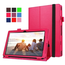Litchi PU Leather Cover for Lenovo Ideapad Miix 310-10ICR MIIX310 MIIX 310 10.1″ Tablet Case with Stand Can Put Keyboard