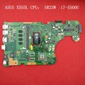 For X555L ASUS X555LD  X555LAB Motherboard REV:3.6 CPU: SR23W i7-5500U PN:60NB0650-MB9210 Free shipping