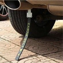 Courroie statique automobile avec des bandes de rognage de suspension de chaîne de mise à la terre pour éliminer les bandes statiques montées sur véhicule du ru épaissi
