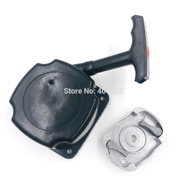 CG430 Einfach starter mit pulley fit TL43 TL52 pinsel cutter 1E40F-5 1E44F-5 gras trimmer cutter unkraut esser niedrigen sperrklinke starter