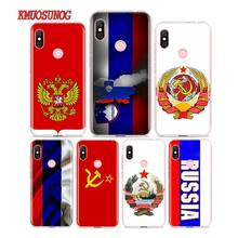 Silicone Phone Case Flag Russian Federation Red Army for Redmi 7 Y3 Y2 S2 Xiaomi Note 6 6A 5 5A Pro Plus 4 4X Cover