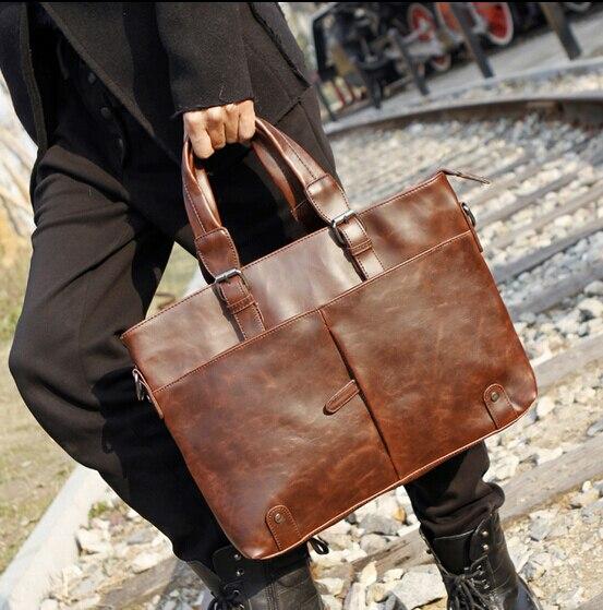 Desginer top quality men s briefcase handbags men s bag man messenger shoulder bag carteira masculina