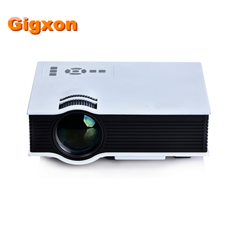 Gigxon G40 UC40 800 lumens LED Mini Projector Home Cinema Business HDMI AV SD 1080P US