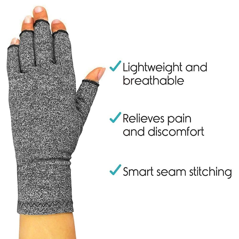 Перчатки при артрите, ревматоидные перчатки для здоровья, 1 пара, унисекс, для мужчин и женщин, компрессионные перчатки для терапии, уход за здоровьем рук