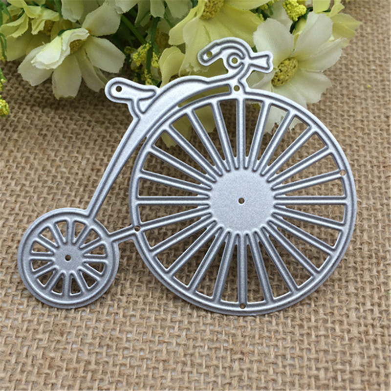 Bike Unicycle DIY Metal Cutting Dies Stencil Scrapbooking Photo Album Card Paper Embossing Craft DIY