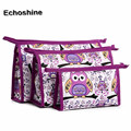 2016 fashion Multifunctional ,portable and convenient to use 3pcs Cosmetic Toiletry Travel Wash Makeup Bag Holder Pouch Kits Set