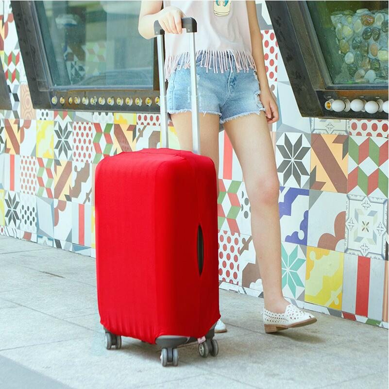 2017 SAFEBET Candy Color Luggage Cover For 20-28 inch Suitcase Dustproof Trolley Case Travel Accessories travel aluminum blue dji mavic pro storage bag case box suitcase for drone battery remote controller accessories