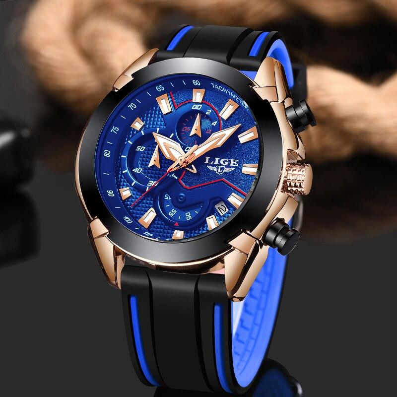 2018 NAVIFORCE Marca Moda Casual Do Esporte dos homens Relógios Dos Homens Relógio de Quartzo de Couro À Prova D' Água Homem Relógio militar Relogio masculino