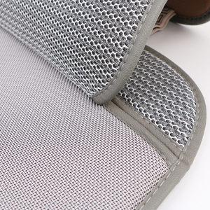 Image 4 - 3D Air mesh car seat cover pad for cars Breathable cloak Auto summer cool single front seats cushion Protect Automobile interior