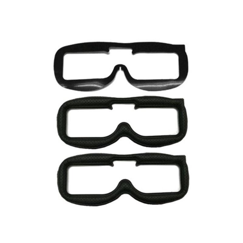 2PCS Faceplate Substituição KIT Almofada de Tecido De Couro Para Fatshark FPV Óculos Modelos de RC Multicopter Reposição Parte Acessórios