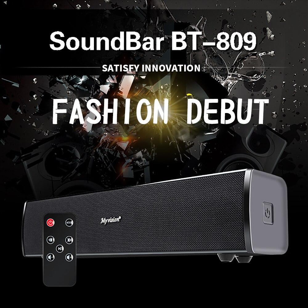 FELYBY BT809 nouveau haut-parleur sans fil Bluetooth barre de son Home cinéma haut-parleur ordinateur stéréo Subwoofer haut-parleur Bluetooth