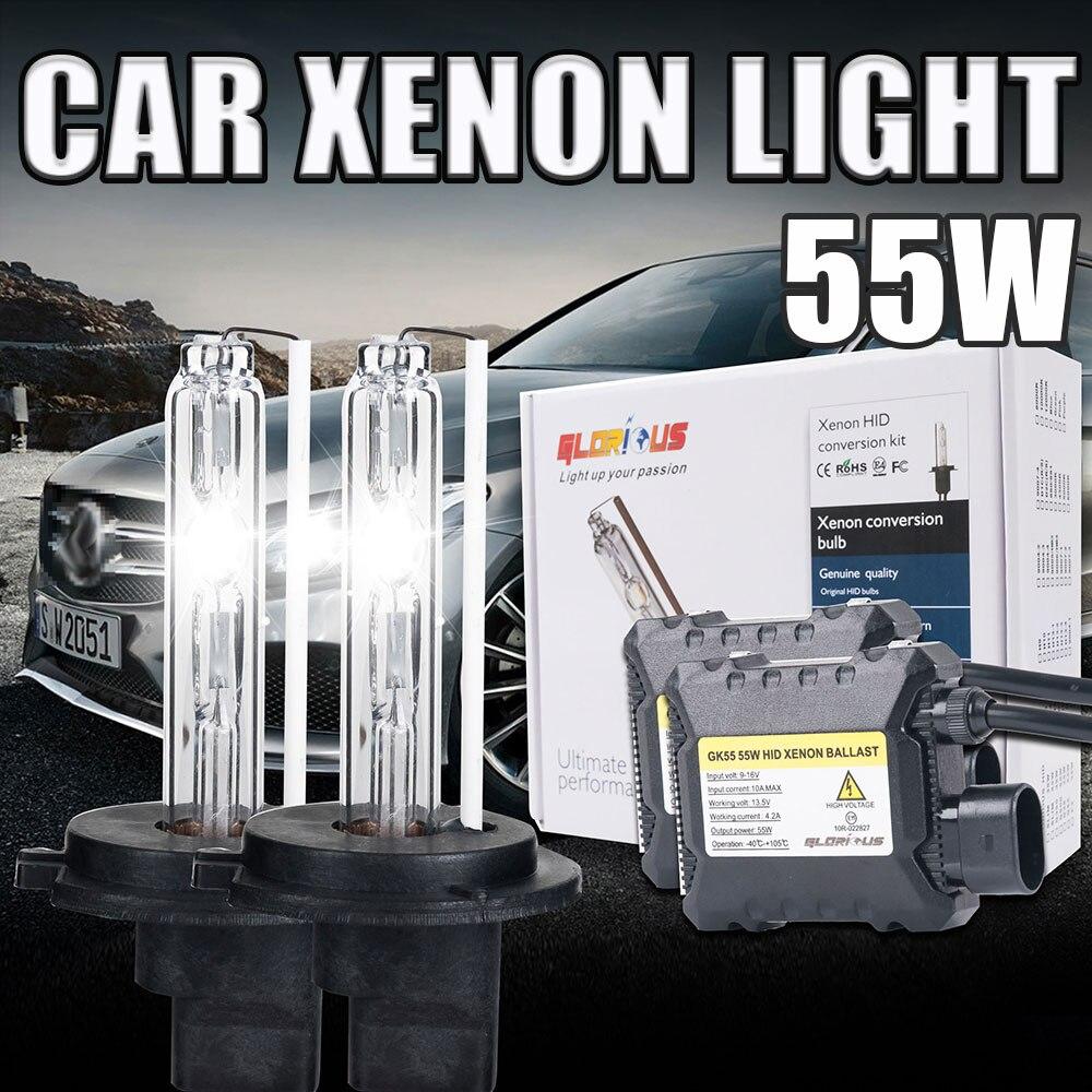 1 Set xenon H7 55W HID Kit H1 H3 H4 H11 9005 HB3 9006 HB4 881