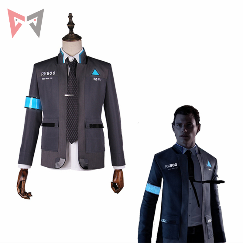 New MMGG Detroit: Become Human cosplay Connor  cosplay costume  high quality set in stock